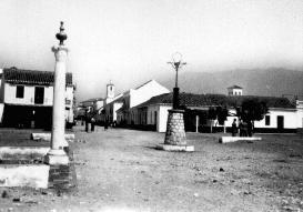 Calle España, vista desde el Paseo de Suel