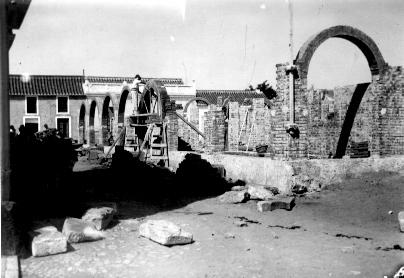 Construcción del Antiguo Mercado