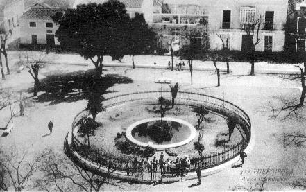 Plaza de la Constitución años 20