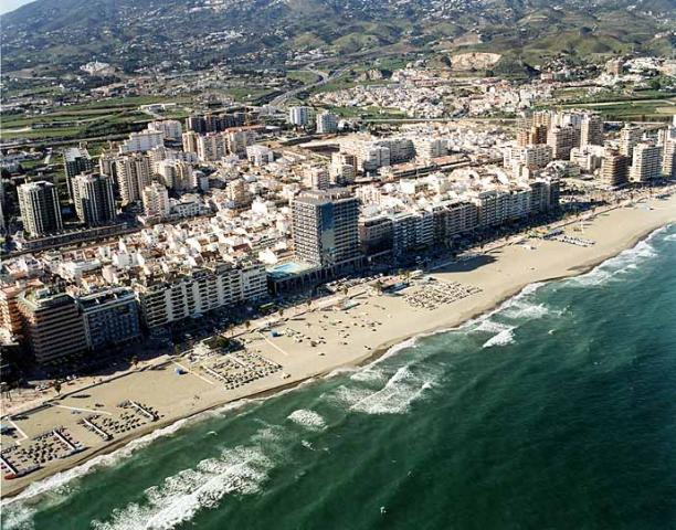 Los Boliches Beach. Beaches of Fuengirola and Mijas, Málaga.