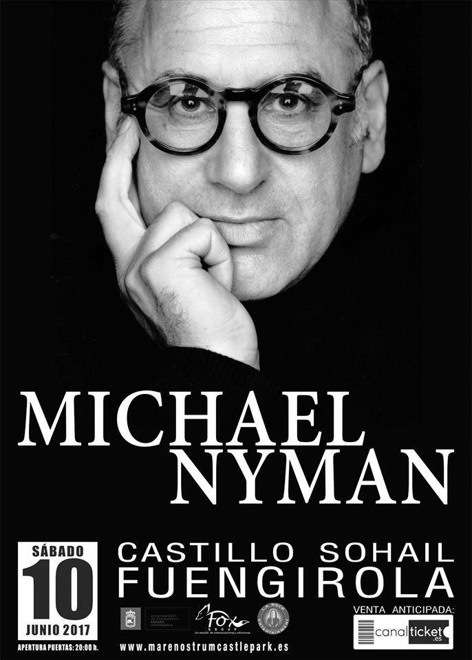 Michael Nyman en el Castillo Sohail