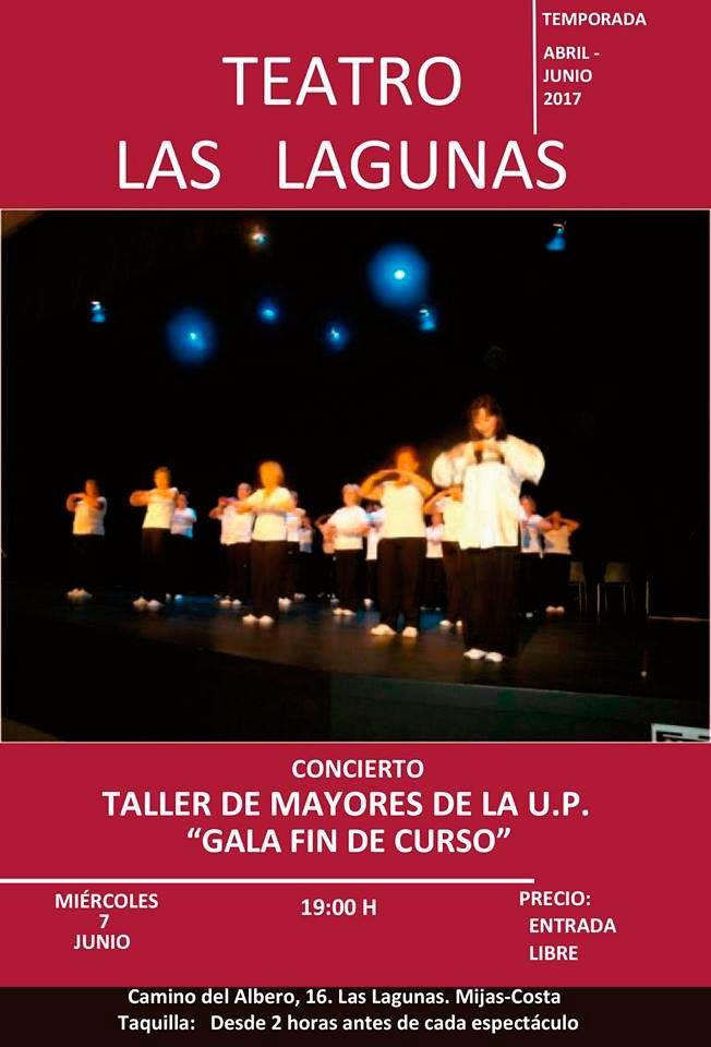 Teatro Las Lagunas: Taller de mayores de la U.P.