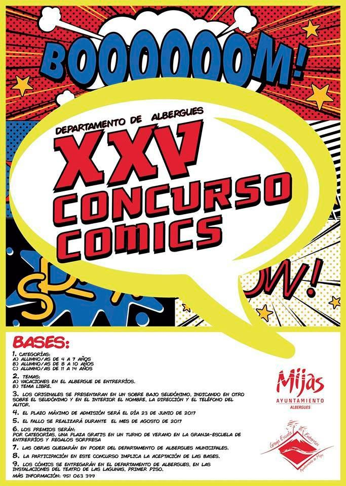 XXV Concurso de Comics