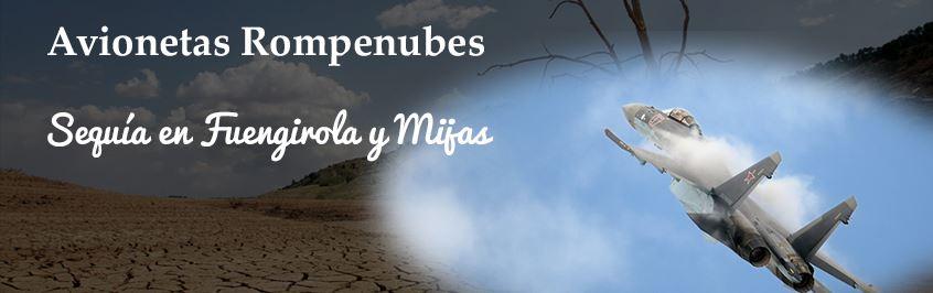 Avionetas Rompenubes en Málaga - Sequía en Fuengirola y Mijas