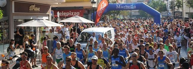Carrera Solidaria Marbella 2015 -Tú decides, o correr o CARTOJAL