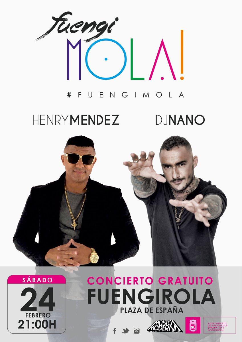 Concierto de Henry Méndez y Dj Nano en Fuengirola
