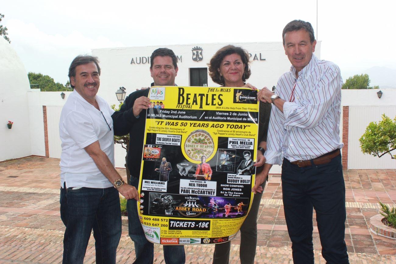 El Auditorio de Mijas acogerá la IV edición del festival Weekend Beatles el próximo 2 de junio