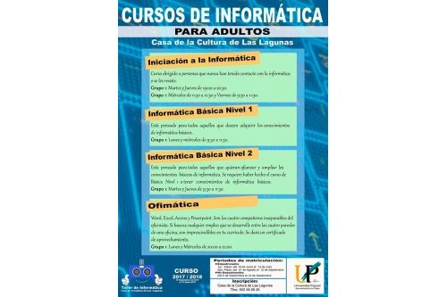 Informatic courses for adults