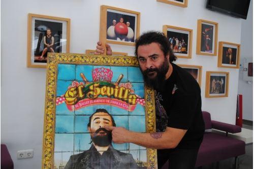 El Sevilla chosen as the town crier at the Las Lagunas Fair
