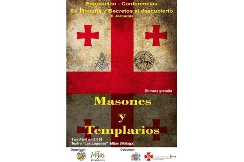 II Jornadas de Masonería y la Orden del Temple en Fuengirola. Su historia y secretos al descubierto.