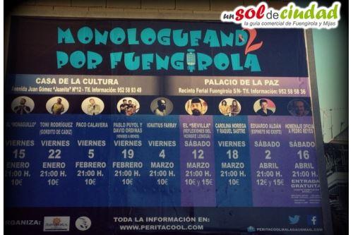 Monologueando Fuengirola 2016 - Fechas e información