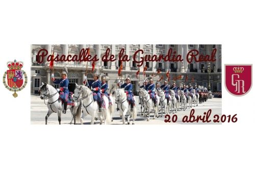 Pasacalles y exhibici�n de la Guardia Real en Mijas