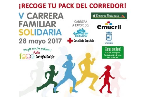 Fifth solidarity race of Pinturas Andalusia