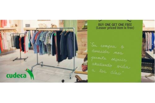 Rebajas en 15 tiendas Cudeca - Participa y apoya a la asociación