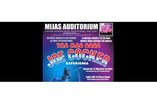 Tributo a Joe Cocker Experience en Mijas 2016