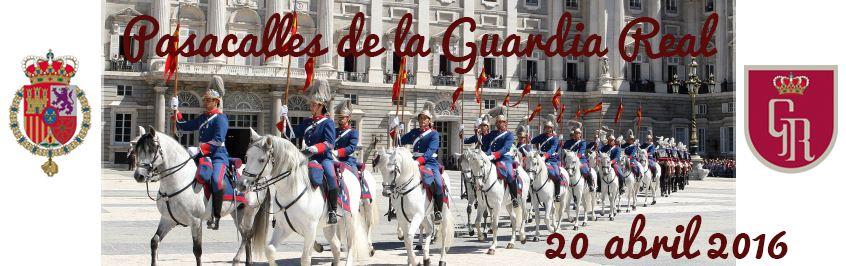 Pasacalles y exhibición de la Guardia Real en Mijas