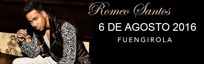 Romeo Santos aplaza su concierto en Fuengirola al 6 de agosto