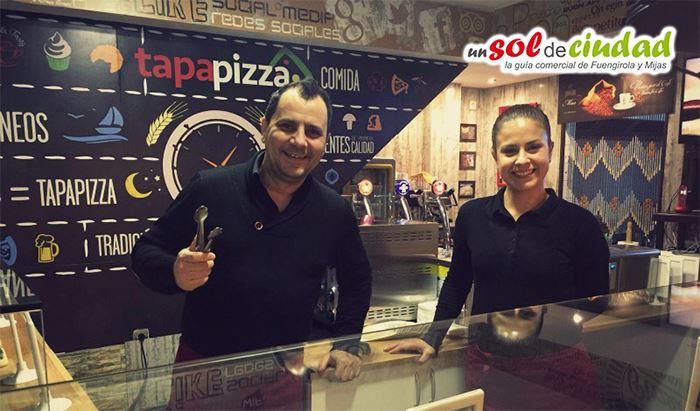 Tapapizza en Fuengirola - Las pizzas más originales